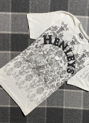 Женская футболка henleys