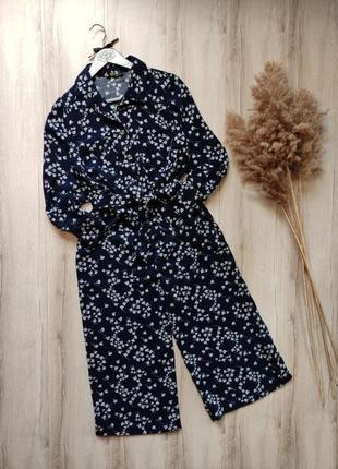 Комбинезон рубашка с кюлотами matalan p m-l