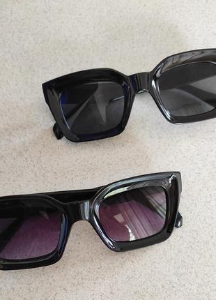 Солнцезащитные очки окуляри солнечные сонячні женские жіночі чёрные
