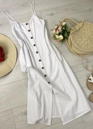 Легкое платье миди shein, размер xs