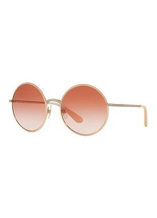 Очки dolce&gabanna metal pink gold