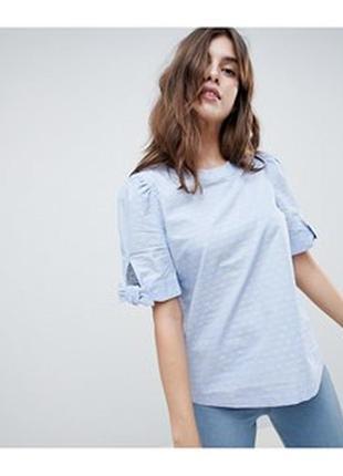 Красивая хлопковая блуза от esprit