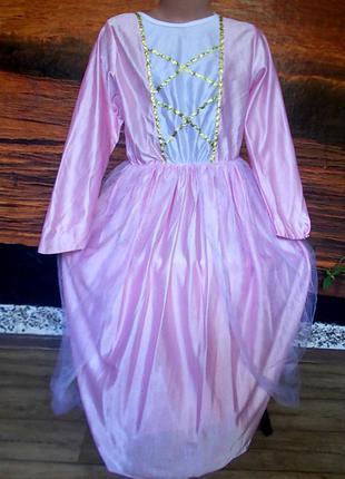 Платье маскарадное на 7-10 лет
