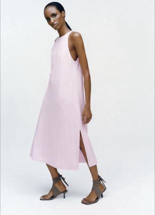 Платье туника сарафан хлопковое платье