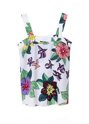 Натуральная блуза майка футболка из вискозы