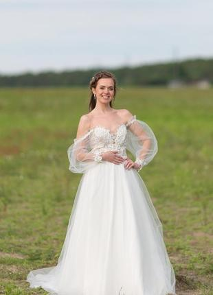 Весільне плаття в стилі бохо