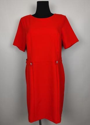 Платье футляр стрейчевое шикарное большого размера f&f uk 18/46/xxl