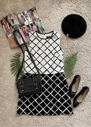 Распродажа!!! стильное платье с имитацией топа №14 oasis