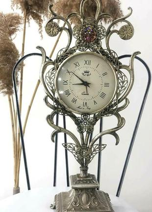 Годинник з посрібленням
