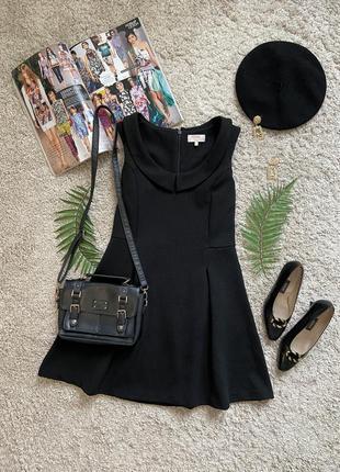 Распродажа!!! классическое милое платье с воротничком №315