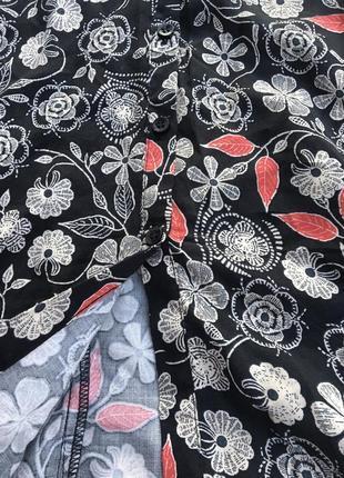 Платье сарафан цветочный халат плаття миди3 фото