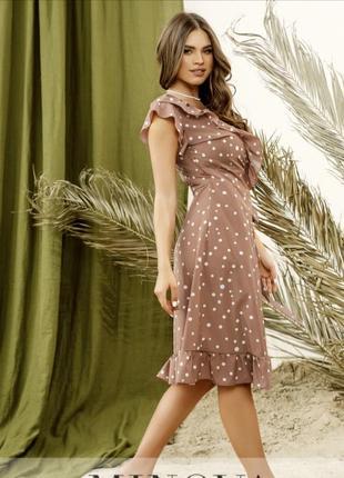 Лёгкое летнее платье на запах в романтическом стиле💕2 фото