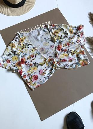 Летний кроп топ топик блуза pull&bear р.м