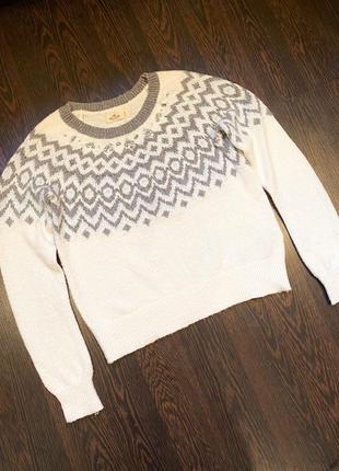 Нарядный свитер кофта реглан hollister (zara mango h&m)