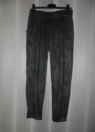 Женские штаны трикотажные  вязаные  размер 44// xxl  полиэстер