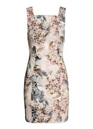 Платье с принтом h&m
