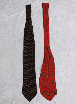 Швейцарские шёлковые мужские шарфы / шейный платок