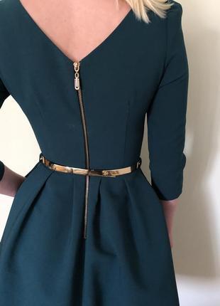 Сукня смарагдового кольору2 фото