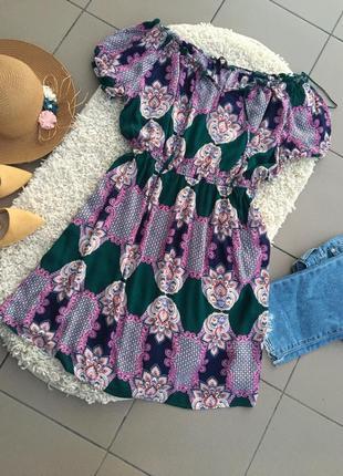 Натуральное платье плаття сукня сарафан