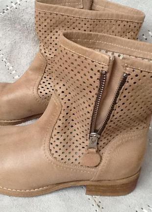 Большой выбор кожаной обуви!!! сапоги  италия кожа р.37