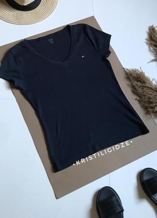 Синяя футболка tommy hilfiger р.м