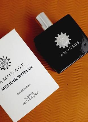Amouage memoir woman парфюмированная вода 100ml тестер