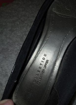 Туфли натуральная кожа 25.5 см туфлі натуральна шкіра балетки кожа5 фото