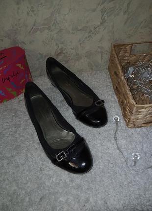 Туфли натуральная кожа 25.5 см туфлі натуральна шкіра балетки кожа10 фото