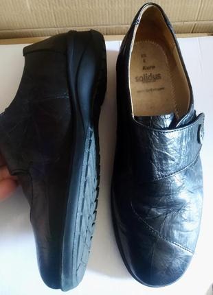 Немецкие кожаные туфли solidus, оригинал