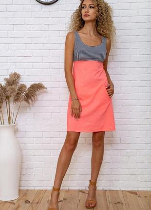 Сукня платье полоска мини