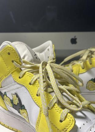 Nike air jordan mid кроссовки найк джордан4 фото
