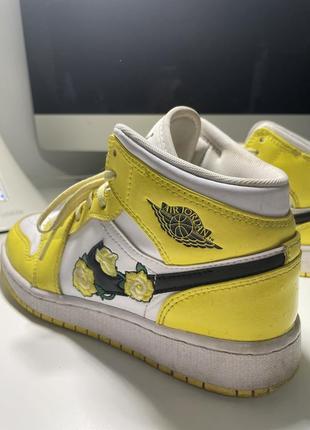 Nike air jordan mid кроссовки найк джордан6 фото
