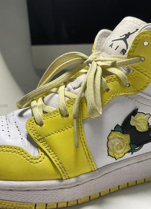 Nike air jordan mid кроссовки найк джордан1 фото