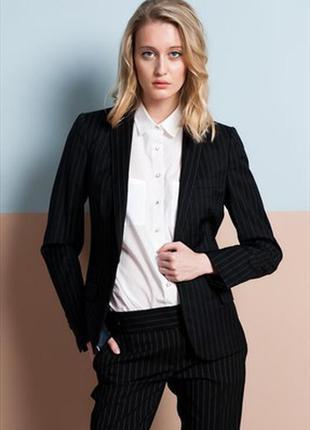Брючный строгий женский костюм пиджак+брюки