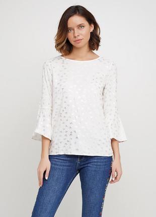 Натуральная, милейшая блуза бренда street one, р. 48-50
