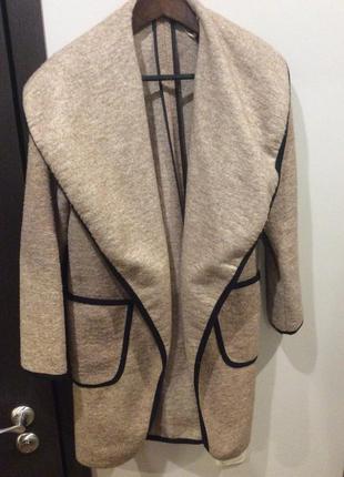Стильное пальто - кардиган