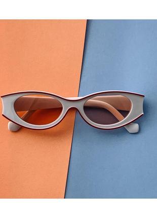Белые солнцезащитные очки!