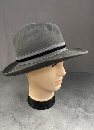 Шляпа фетровая серая, c&a, стильная