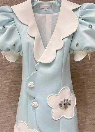 Кукольное мини платье