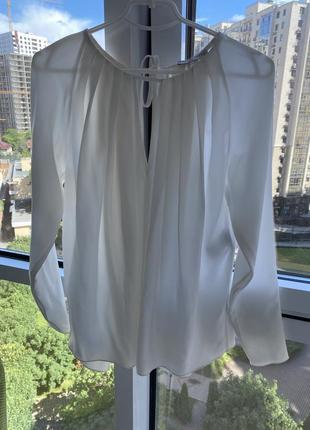 Блузка из 100%шёлка emilio pucci,оригинал!размер м🔥скидка2 фото
