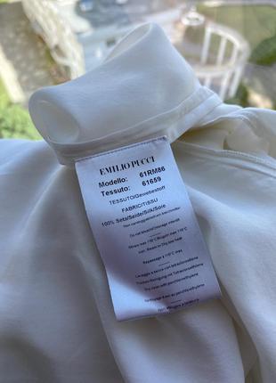 Блузка из 100%шёлка emilio pucci,оригинал!размер м🔥скидка5 фото