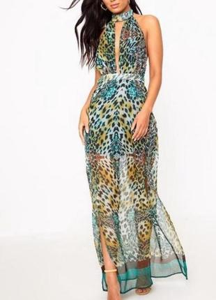 Нереально крутое шифоновое платье