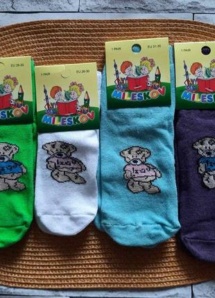 Дитячі шкарпетки ведмедик🐻