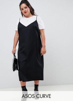 Платье в бельевом стиле батал р.26