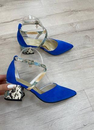 Туфли удобный устойчивый каблук 6 см и 9 см . размеры 35-41