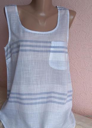 Красивая легкая блуза  atmosphere 100 % хлопок акция 1+1 =3 на блузы , рубашки , футболки