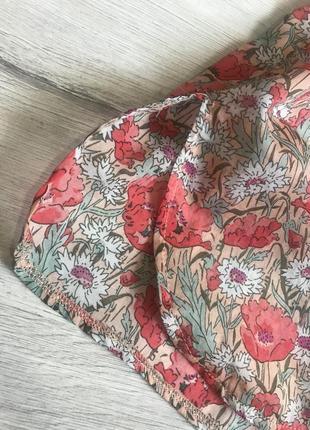 Женская блузка рубашка в маки promod разм. l4 фото