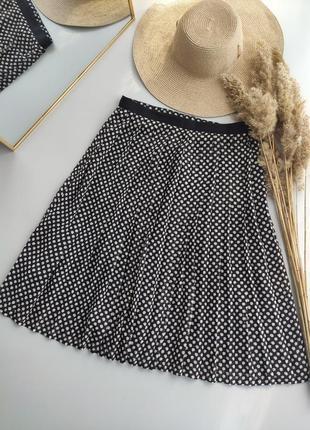 Шифоновая юбка миди