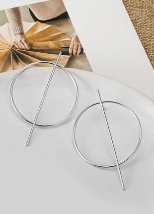 Сережки круглі, круглі сережки , сріьні сережки , серьги гвоздики , круглые серьги