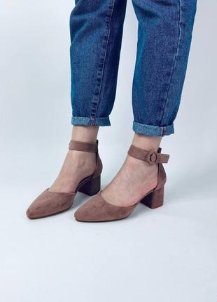 🕊 туфли с ремешком